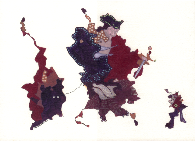 2006 : Français terrorisant sa Chimère